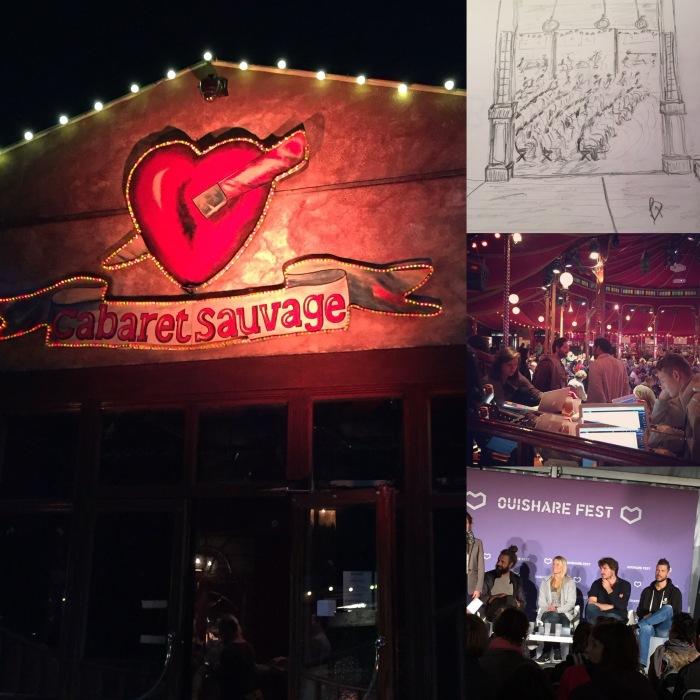 OuiShare Fest 16, Cabaret  Sauvage Paris - Philip Dodson