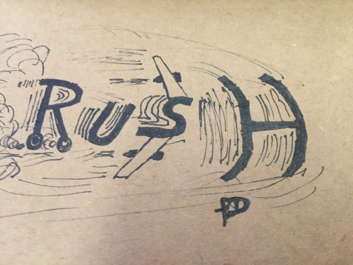 Rush by Philip Dodson